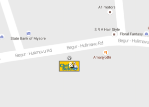 Chef & Butcher - DLF Newtown Outlet on Google Map