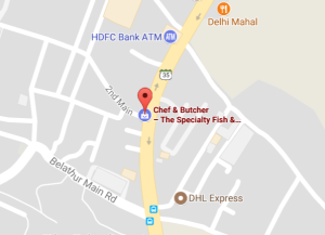 Chef & Butcher On Map Whitefield
