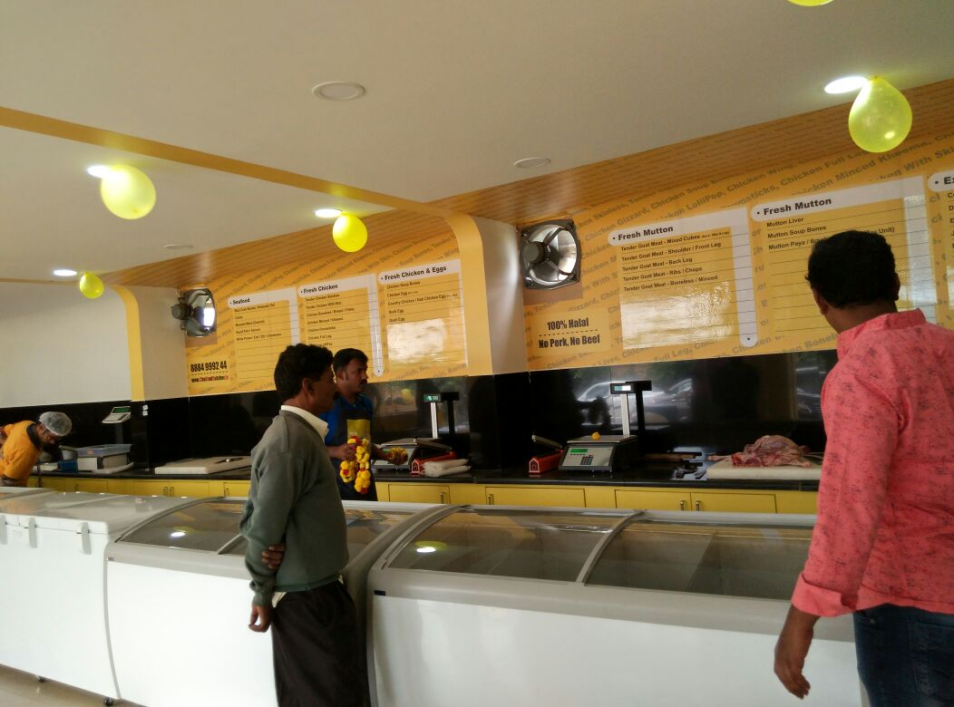 Interior of the Chef and Butcher Electronic City