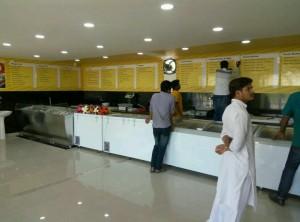 Hygienic Meat Shop Interior