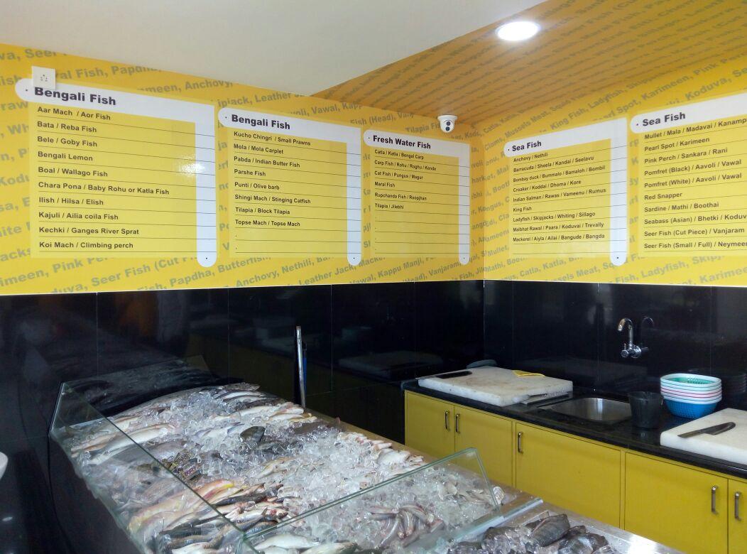 Fish Counter at Chef & Butcher - DLF Newtown